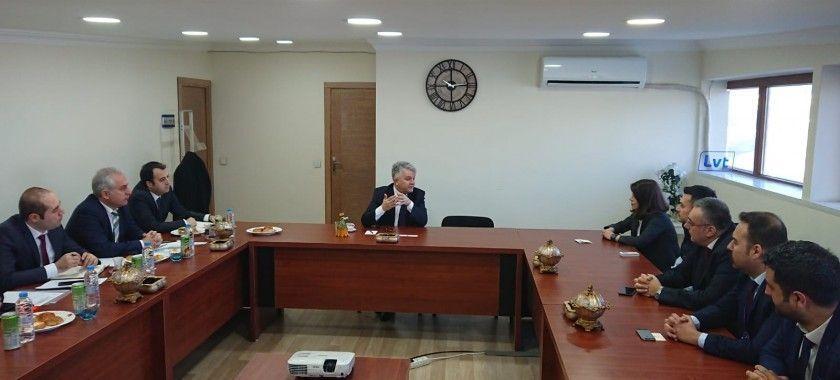 T.C. Sanayi ve Teknoloji Bakanlığı Firmamızı Ziyaret etti.