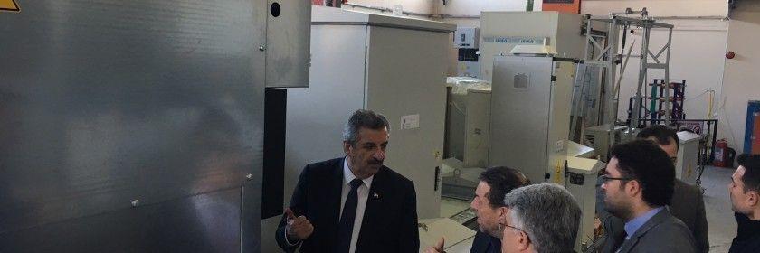 T.C. Sanayi ve Teknoloji Bakan Yardımcısı ve Cumhurbaşkanlığı Başdanışmanı Hasan Büyükdede Firmamızı Ziyaret Etti.