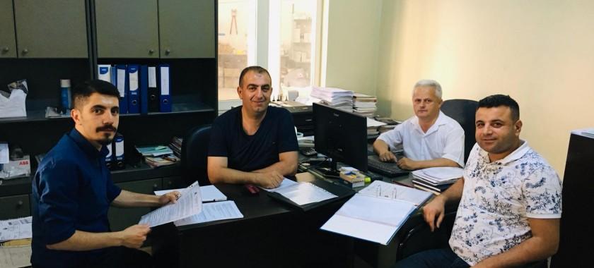 Menderes Pano Firmasında Dolu Pano Denetlemesini Gerçekleştirdik.