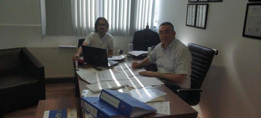 AYSAN Firmasında O.G Hücre ve Beton Köşk Denetlemesini Gerçekleştirdik.