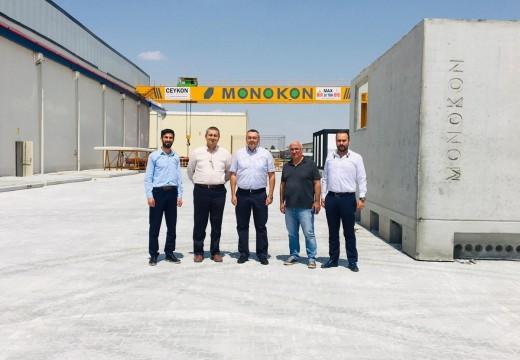 MONOKON Firmasında Hücre ve Beton Köşk Denetlemesini Gerçekleştirdik.